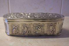 Online veilinghuis Catawiki: Zilveren tabaksdoos, W. Lobensteyn, Schoonhoven, 1885