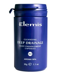 Elemis Deep Drainage Body Cleansing Capsules X 60 Recommended as part of a body detoxification and cleansing programme. Contains a stimulating synergy of Black Winter Radish, Peppermint, Plantain and Kelp to naturally cleanse the body, help relieve f http://www.MightGet.com/january-2017-11/elemis-deep-drainage-body-cleansing-capsules-x-60.asp