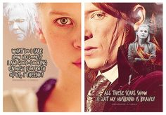 Bill and Fleur :) Wish they could have had that scene in the Half Blood Prince. Missed it so much!