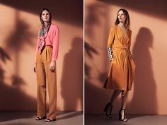 Issa Pre-Fall 2014 - Love the dress on the right