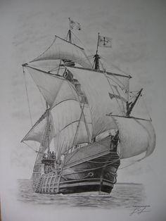 Die 12 besten Bilder von Piratenschiff zeichnung in 2020 ...