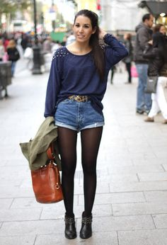 It�s Fall, But Wear Your Shorts In All Seasons!