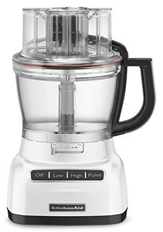 Special Offers - KitchenAid KFP1333WH 13-Cup Food Processor with ExactSlice System  White - In stock & Free Shipping. You can save more money! Check It (June 02 2016 at 12:12PM) >> http://coffeemachineusa.net/kitchenaid-kfp1333wh-13-cup-food-processor-with-exactslice-system-white/