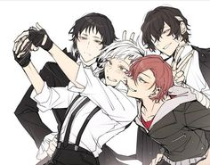 , Akutagawa , Chuuya y Dazai Bungou Stray Dogs Wallpaper, Dog Wallpaper, Dazai Bungou Stray Dogs, Stray Dogs Anime, Noragami, Manga Anime, Anime Art, Dog Memes, Anime Ships