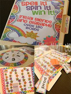 Students will spell up to 180 CCVC words with this great board game for partners or small groups!