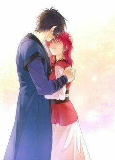 Yona and Hak 。 Akatsuki no yona Manga Anime, Comic Anime, Fanarts Anime, Manga Love, I Love Anime, Anime Guys, Yona Akatsuki No Yona, Anime Akatsuki, Manga Romance