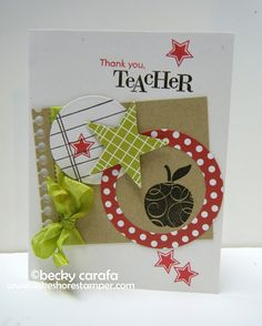 {the lakeshore stamper}: Teacher Thank You