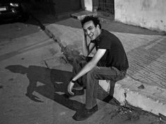 """Photojournalist 'Shawkan' marks 600 days in prison - Photojournalist Mahmoud Abou Zeid, or Shawkan, sits in this undated photo courtesy of the Facebook group """"FreedomforShawkan"""""""