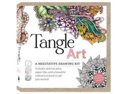 <div>This convenient beginner's kit, adapted from the book by Beckah Krahula, <i>One Zentangle A Day</i>, offers you everything you need to get started in the playful and inspiring world of tangle art, a popular new trend in the drawing and paper arts ...