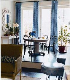 Dining room of Sara Ruffin Costello