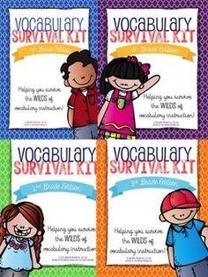 Vocabulary instructi