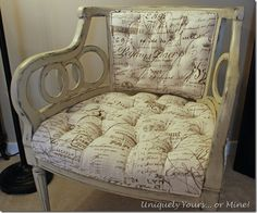 Uniquely Yours... or Mine: Annie Sloan Chair