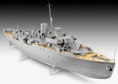 SCALE MODEL NEWS: BIG BOAT FROM REVELL - 1:72 SCALE FLOWER-CLASS CORVETTE