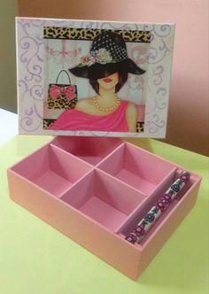 porta joia 15x20 rosa bb