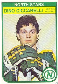 Dino Ciccarelli of the Minnesota North Starts