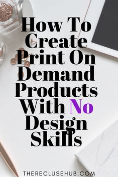 How To Design Print on Demand Products With No Design Skills // print on demand // design skills // free photo websites // stock photos // free vector graphics // // open your own store // print on demand ideas Tshirt Business, Etsy Business, Craft Business, Business Tips, Online Business, Make Money Online, How To Make Money, Photo Websites, Work From Home Jobs