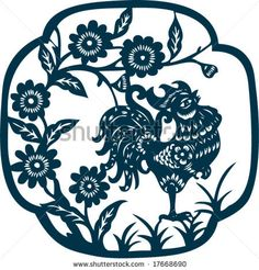 Traditional artistic chinese pattern