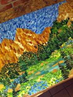 Kasia Mosaics: Cascade Canyon Mosaic