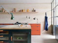 glass front drawers & doors...Favorite English Paint Lines, Plain English, Adam Bray | Remodelista