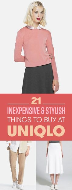21 Awesome Things You Can Buy At Uniqlo For Under $100