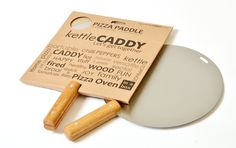The kettleCADDY Pizza Paddle/Peel! Included when you purchase the kettleCADDY Pizza Oven! Portable Pizza Oven, Paddle, Kettle, Stuffed Peppers, Tea Pot, Stuffed Pepper, Boiler, Stuffed Sweet Peppers