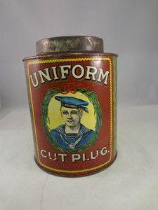 Vintage Tobacco Tin $395.00