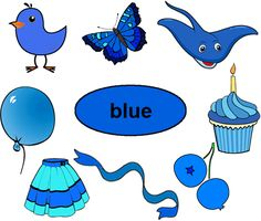 Single color blue worksheets interactive and printable. Preschool color recognition for children ages 3-5. We've gathered together a number of objects below that are colored blue. Color Blue Activities, Color Activities For Toddlers, Color Worksheets For Preschool, Preschool Color Activities, Kindergarten Worksheets, Preschool Activities, Color Flashcards, Toddler Teacher, Classroom Walls
