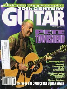 Guitar Magazine, Pete Townshend, Current Time, Vintage Guitars, September, 2000s, Magazines, Collections, Type