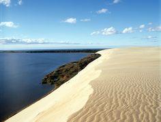 Viaggio nella penisola dei Curoni, una striscia di sabbia sulmar Baltico.Paesaggi incontaminati per una vacanza all'insegna dello sport e del benessere
