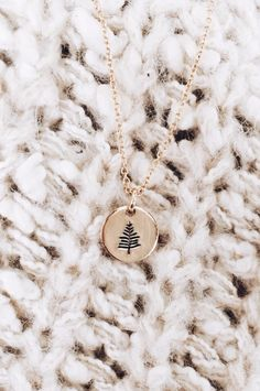 Evergreen necklace by MBM | ROOLEE