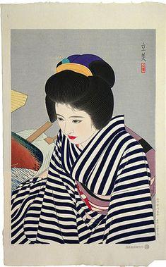 Juxtapoz Magazine - Shimura Tatsumi's Modern Beauties