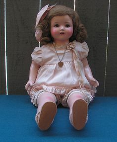 Effanbee Rosemary Composition Cloth Doll 24""