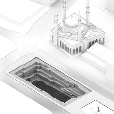 GM Architects Cut Through Beirut's Multicultural History at 2014 Venice Biennale,Construction Diagram 1. Image © GM Architects