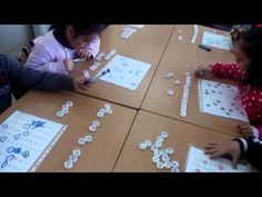 ▶ Descubrir y ordenar números en la tabla del 100. Taller abn 1º de E.P. - YouTube
