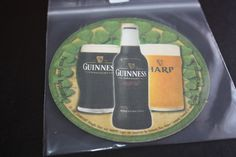Beermat; Guinness; USA Import, Date and Cat No. Unknown (2D52 9/14)
