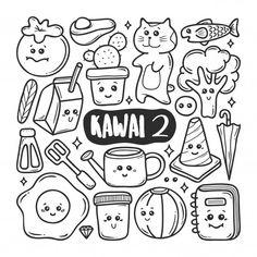 Disegni disegnati a mano doodle doodle i. Doodle Doodle, Doodle Art Drawing, Line Drawing, Doodle Coloring, Coloring Sheets, Coloring Books, Mandala Quotes, Doodles, Dibujos Cute