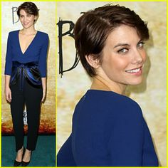 lauren cohan haircut - Google Search
