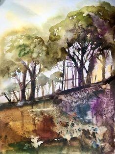 Looking Up : Kirsten Elswood - artist in Devon