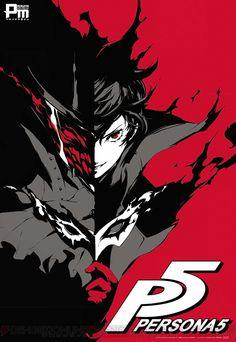 Persona 5 poster art
