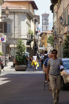 Prato, Italy  *Flea market every fourth weekend of the month except July and August