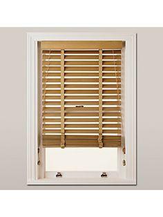 BuyJohn Lewis Partners Wood Venetian Blind, 50mm, FSC-certified, Oak
