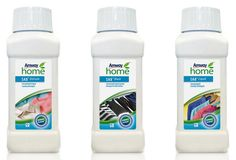 Set of 3 mini size liquid laundry products Amway Home, Vida Natural, Mini, Household, Personal Care, Cleaning, Health, Roman, Eco Friendly
