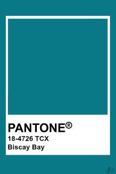 Pantone Biscay Bay Pantone Turquoise, Azul Pantone, Pantone Tcx, Pantone Green, Pantone Swatches, Pantone Colour Palettes, Color Swatches, Pantone Color, Pantone Paint
