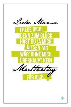 Grüße zum Muttertag ;o)