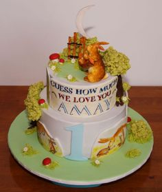 Guess how much I love you cake  Adam  Geburtstagstorte