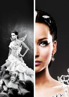 beautiful, catching fire, and katniss everdeen image