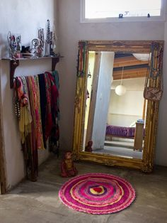 The Bright Bohemian Home of. Pato and Pablo in Buenos Aires. The Bright Bohemian Home of. Pato and Pablo in Buenos Aires This house is just awesome isn't it? Decoration Inspiration, Room Inspiration, Decor Ideas, My New Room, My Room, Deco Rose, Deco Boheme, Home And Deco, Bohemian Decor