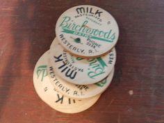 Milk Bottle Caps, Vintage, Bid Here:http://tommywagnerauctions.auctionflex.com/searchauctions.ap?co=59395=n=en
