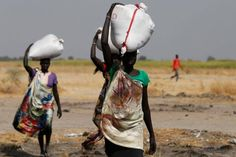 """Parts of South Sudan suffering famine - govt official. Impact of war, combined with high food prices, economic disruption and low agricultural production expected to make 4.9 million people """"food insecure"""""""