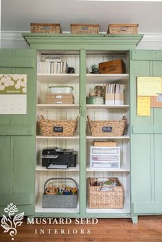 miss mustard seed steal-worthy office organization missmustardseed. Home Office Organization, Home Office Decor, Home Decor, Craft Organization, Painted Furniture, Diy Furniture, Office Furniture, Window Furniture, Furniture Online